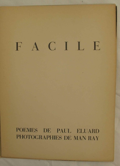 Rencontre entre paul eluard et man ray