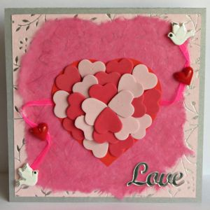 This DIY Valentine's Day card is sure to catch the attention of your special someone.  #FaveCrafter