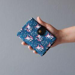 wallet  Peněženka Liščí :: LOOKrecia - LOOKrecia| Ručně šité originální kabelky, homeopatická pouzdra, dámské peněženky, kabelky pro děti, bokovky, elegantní ledvinky
