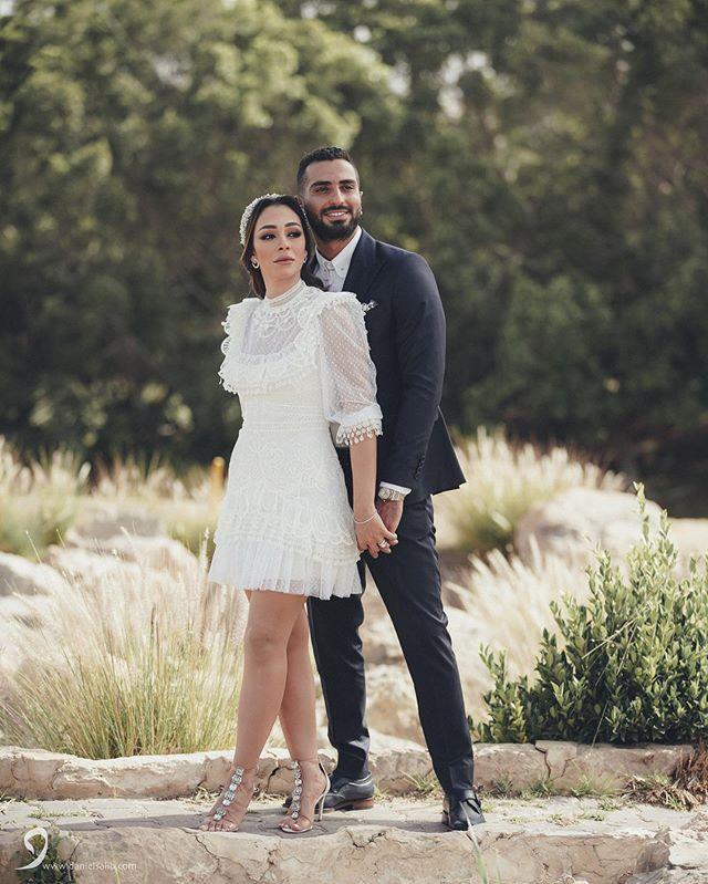 محمد الشرنوبي On Instagram الحمدلله الذي تتم بنعمته الصالحات تم عقد قراني على زوجتي و حبيبتي راندا رياض Zuhair Murad Bridal Beautiful Couple Perfect Couple