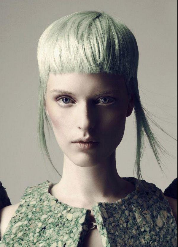Photo Giel Domen Art-direction ByLudovic Hair Sanke Artistic Team #blonde #bangs