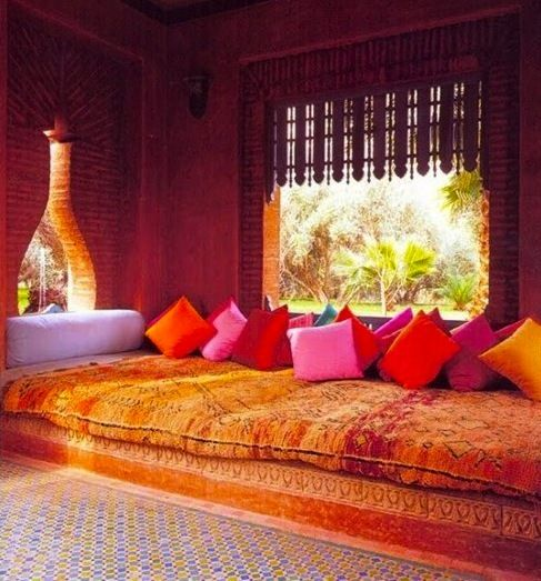 ledecorquejadore:  Moroccan interior design (via Born  raised in a summer haze.. | We Heart It)