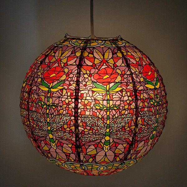 Les 25 meilleures id es de la cat gorie lampe japonaise for Suspension 3 boules japonaises