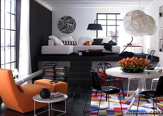 Ev Dekorasyonlarında Stüdyo Daireler İçin Öneriler - http://hepev.com/ev-dekorasyonlarinda-studyo-daireler-icin-oneriler-2995/