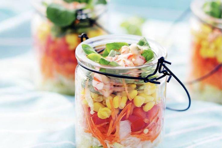 Kijk wat een lekker recept ik heb gevonden op Allerhande! Crunchy salade
