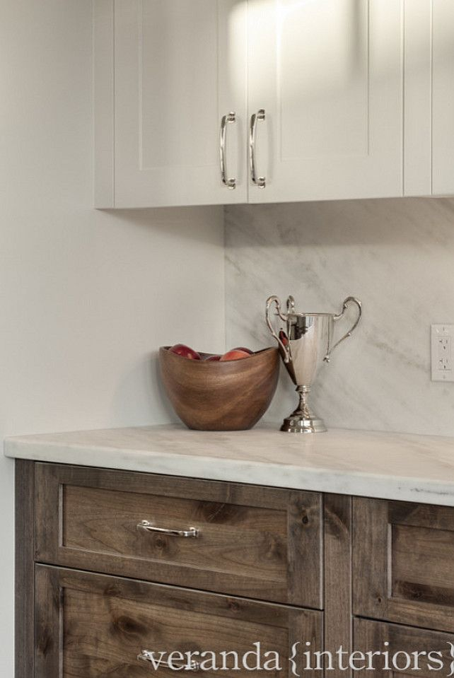 rustic kitchen cabinet ideas the lower cabinet is alder with a custom blended stain - Color Ideas For Kitchen Cabinets