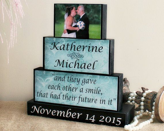 Custom Wedding Wooden Sign Unique Wedding Gift by TimelessNotion