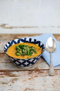 Zitronen-Linsen-Suppe #vegetarisch #vegan #orientalisch