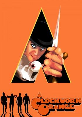 A Clockwork Orange movie poster image