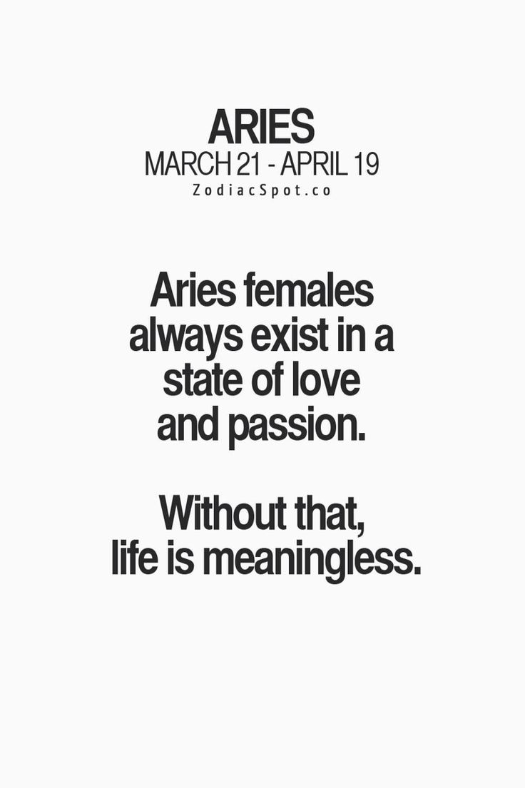 Yes. Aries. ♈️