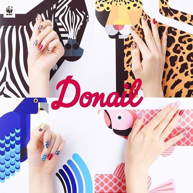photo by@esnail_japan donatin(寄付)+ nail(ネイル)=#donail ネイルアートを通して動物保護や自然保護について考える。 世界自然保護基金・WWFジャパンが「Donail」という プロジェクトを立ち上げました。 おしゃれを楽しみながら気軽に動物保護に参加できるこの企画。 絶滅危惧種の動物デザインが施されていますよ! 渋谷の@esnail_japanさんもこのキャンペーンに参加しています♡  #MERY #regram#mery_naildesign #ネイル #ネイルサロン #ネイルアート #ネイルデザイン #nail #nailsalon #nailart #naildesign #Donail #WWFjapan