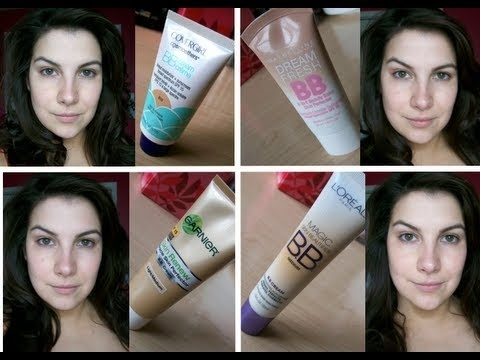 4 in 1 Drugstore BB Cream Review!
