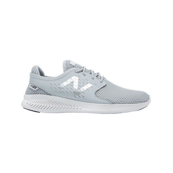 Women's New Balance Fuelcore Coast v3 Running Shoe ($65) ❤ liked on Polyvore featuring shoes, athletic shoes, athletic, lightweight running shoes, light weight running shoes, cushioned running shoes, new balance athletic shoes and breathable shoes