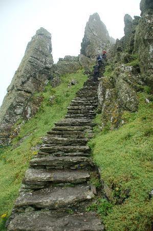 the steps you will climb, Machu Pichu, Peru