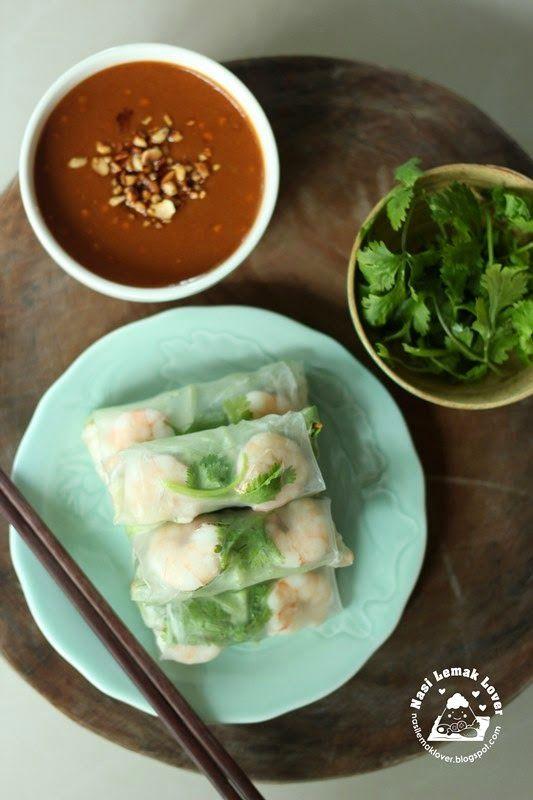 Nasi Lemak Lover: Fresh Vietnamese Spring Rolls (Goi Guon) 越南春卷