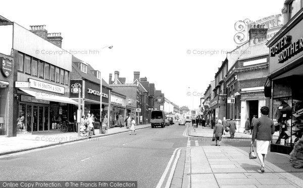 East Ham, High Street c1965