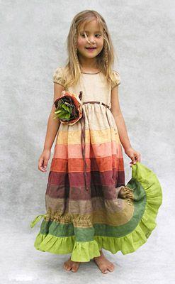 детское платье из льна лён - Поиск в Google