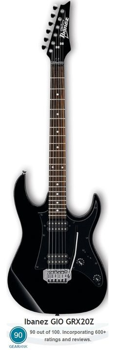 The Ibanez GIO GRX20Z is a great beginner electric guitar and it's the highest rated of all the main options under $150.