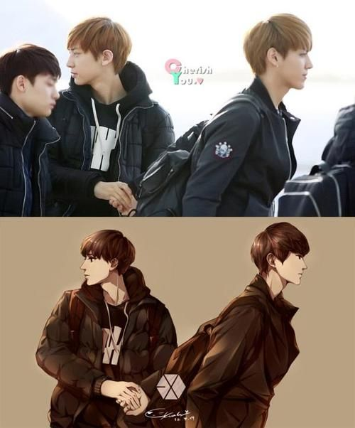 56 best images about CHANBAEK on Pinterest | So kawaii ...