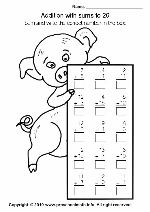 kindergarten math addition worksheets this worksheet in a larger size you can download and. Black Bedroom Furniture Sets. Home Design Ideas