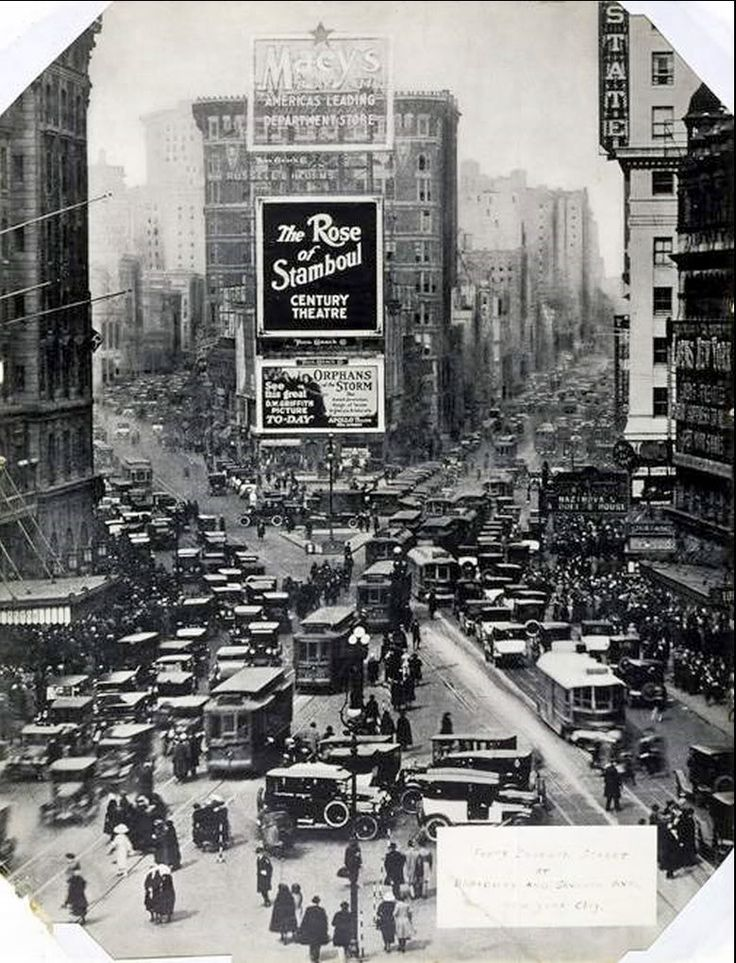 Times Square, NYC, 1922