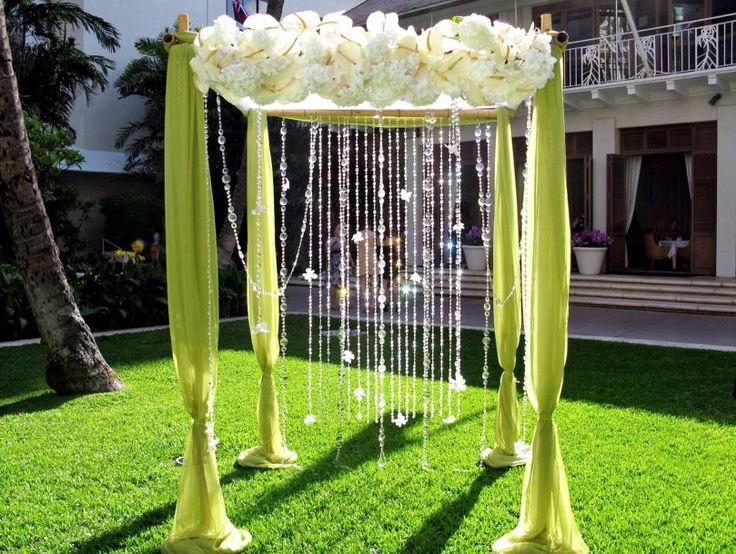 Best 25+ Outdoor Wedding Altars Ideas On Pinterest