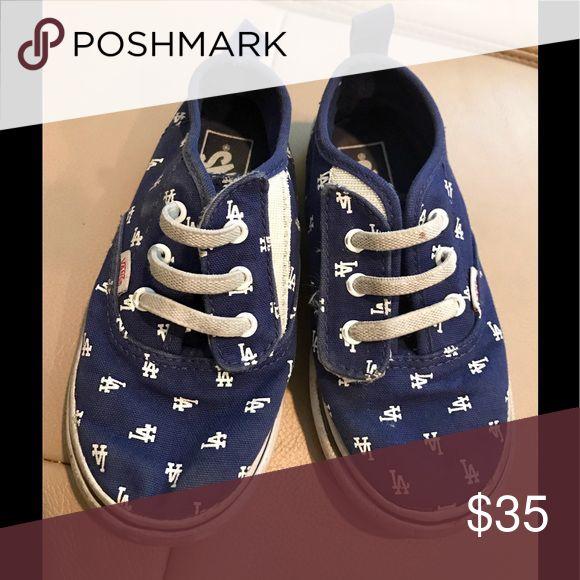Vans LA Dodgers girls shoes size 9 Great condition Vans Shoes Baby & Walker