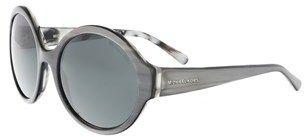 Michael Kors Mk2035 321187 Seaside Getaway Grey Marble Round Sunglasses.