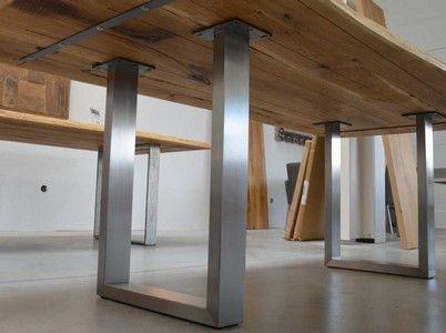 die 25 besten ideen zu esstisch holz metall auf pinterest esstisch eiche couchtisch metall. Black Bedroom Furniture Sets. Home Design Ideas