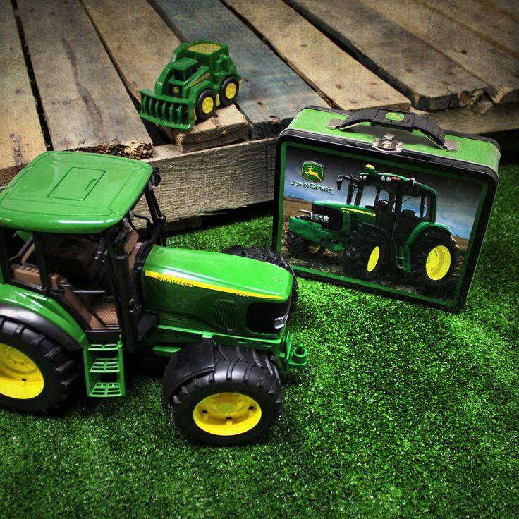 Pour partir en balade sur son tracteur John Deere, il faut aussi une boîte à lunch John Deere!