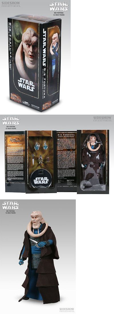 Toys And Games: Sideshow Star Wars Bib Fortuna Scum And Villainy 1/6 12 Figure 2108 New BUY IT NOW ONLY: $59.98