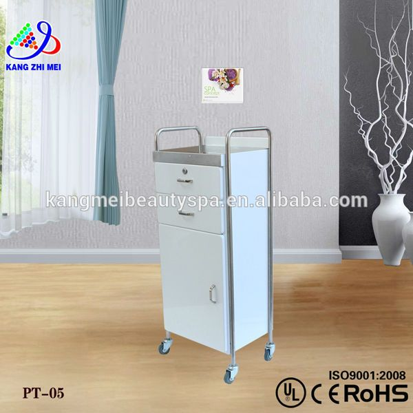 Source nail salon trolley/wooden salon trolley/cheap salon trolley (PT05) on m.alibaba.com