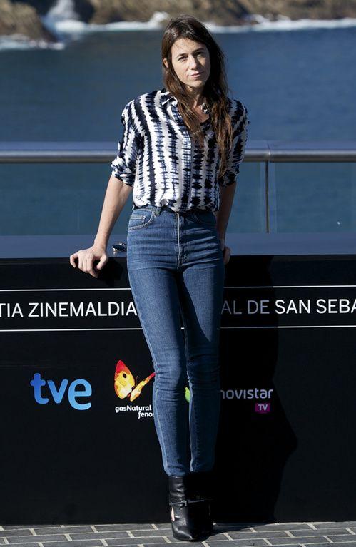 "Charlotte Gainsbourg au photocall du film ""'Samba"" lors du 62ème San Sebastian International Film Festival en septembre 2014"