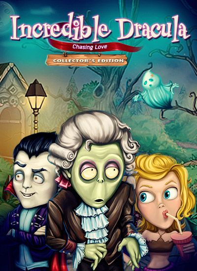 Incredible Dracula: Chasing Love Collector's Edition [Download]:   <div>Vampires have gotten a bad rap. Take Count Dracula for instance. People think all he wants to do is suck their blood, but in truth, he wants the same things everyone else does: food, shelter, and love. He won't settle for just any woman, though, so when a man-hungry princess takes a liking to him against his wishes, he does the only thing a red-blooded (or an undead) male can do: run!<br /><br />As Dracula flees ac...