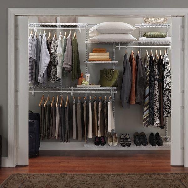 7 10 Shelftrack Closet Organizer Kit Closetmaid Ikea Closet