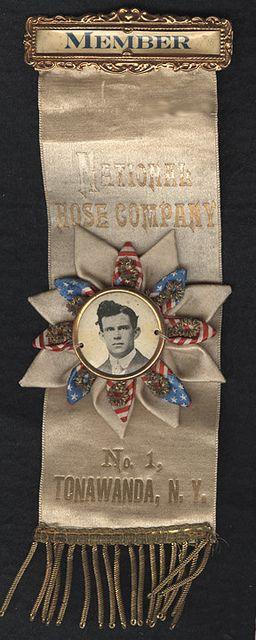Ribbon for the National Hose Company No. 1 Tonawanda, NY by Photo_History, via Flickr