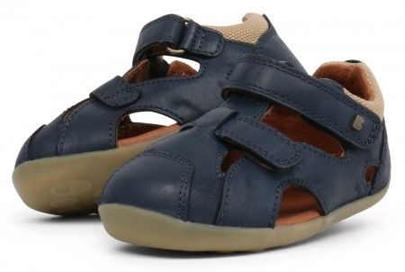 b62585b7dfbd Bobux Step Up Chase Navy Blue Sandals - Bobux - Little Wanderers ...