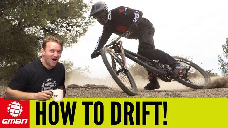 How To Drift On A Mountain Bike | MTB Skills - YouTube