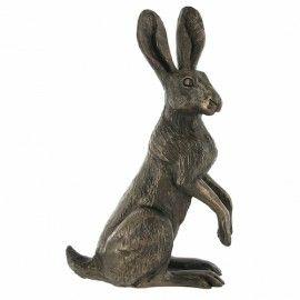 Poppy Standing - Bronze Hare