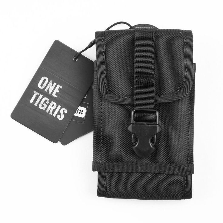 OneTigris MOLLE Tactical Smartphone Pouch Quick Release Buckle Phone Holster ...