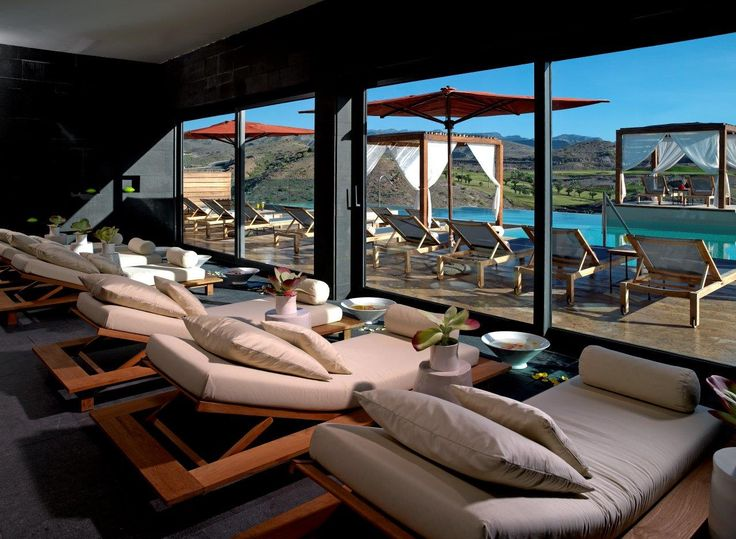 ESP: Zona de relax / EN: Relaxation area. Aloe Spa (Gran Canaria).