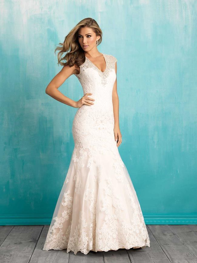 Fishtail wedding dresses from Allure
