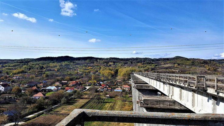 Vedere de pe Viaduct spre Tunelul Gibei