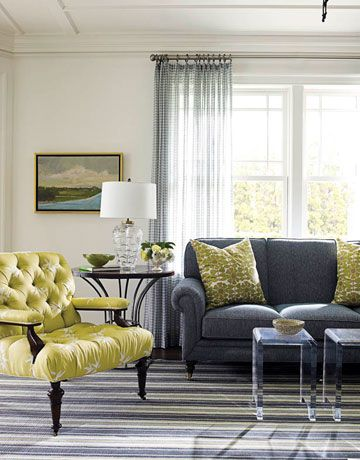 22 best Blue and green living room schemes images on Pinterest