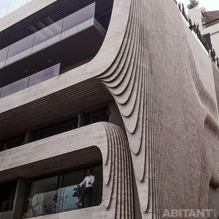 Рифленый фасад