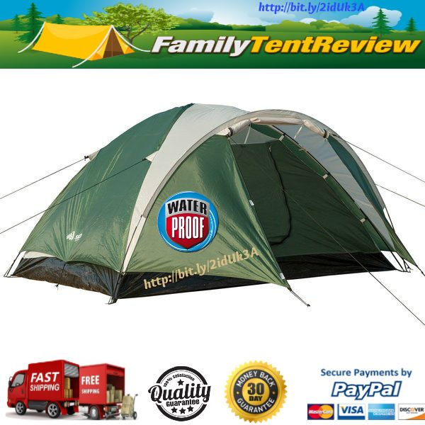 3-4 Persons Waterproof 3 Seasons Lightweight Double Layer Camping DomeTent   Sporting Goods, Outdoor Sports, Camping & Hiking   eBay!