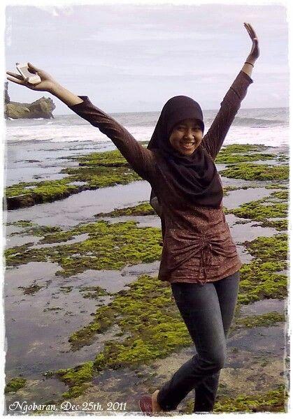 Ngobaran beach. Gunungkidul yovyakarta indonesia.