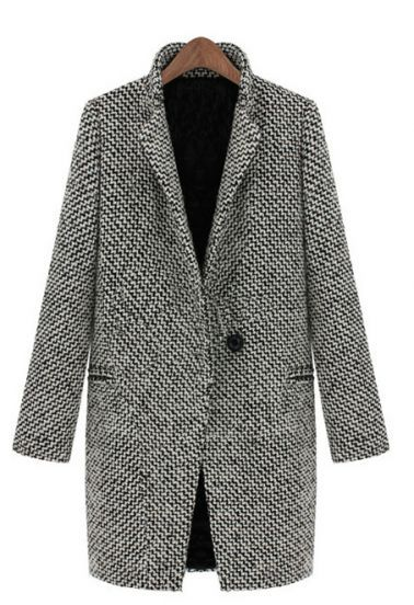 oversized boyfriend tweed coat, must have for fall
