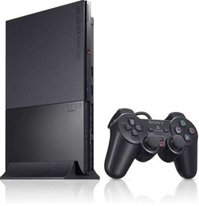 Sony Playstation 2 Slim Black PS2 Player Pak