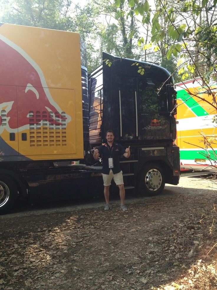 Red bull truck - Monza 2012